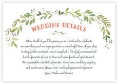 enclosure cards wedding enclosure cards wedding information cards