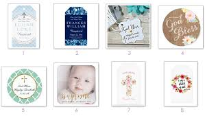 baptism favor tags unique baptism favor tags stickers and gifts