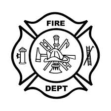 fire department badge coloring fire safty