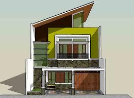 desain rumah corel model rumah sederhana modern home design 86