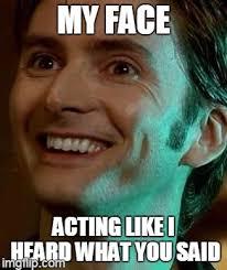 David Tennant Memes - david tennant smile meme generator imgflip