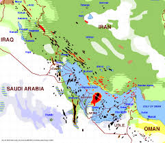 The Middle East Map by One Map That Explains The Dangerous Saudi Iranian Conflict