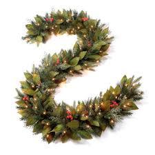 pre lit wreath pre lit woodland christmas garland grandin road