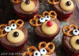 christmas reindeer reindeer cupcakes your cup of cake