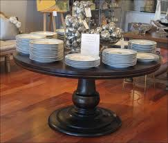 dining room round hardwood dining table glass extension dining