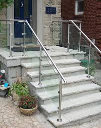 stairs inspiring exterior handrails outdoor stair railing home