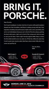 porsche usa mini usa u2013 mini vs porsche challenge this is not advertising