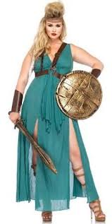 Figured Halloween Costumes Figure Bbw Size Warrior Maiden Halloween Costume