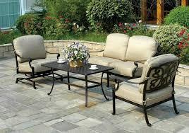 Walmart Outdoor Furniture by Cast Aluminum Patio Furniture Clearance U2013 Smashingplates Us