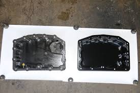 Dodge Ram Cummins Oil Pan - stop the drip early ford 6 7l oil pan upgrade
