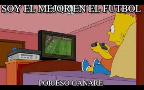 Bart Simpson Meme - meme de bart simpson soy el mejor en el futbol on memegen