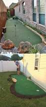 backyard putting green guests can get in their golf practice