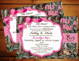 camouflage baby shower pink camo baby shower invitations theruntime
