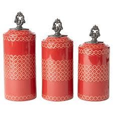 design guild rhone 3 piece kitchen canister set u0026 reviews wayfair