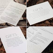 wedding donation registry wedding invitations wording for registry on wedding invitation