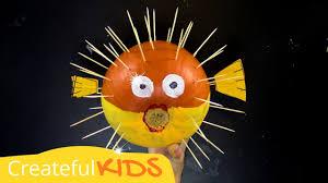 how to make a puffer fish pumpkin halloween pumpkin ideas youtube