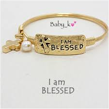 gold bracelet with pearl charm images 25 off boutique jewelry i am blessed cross pearl charm gold jpg