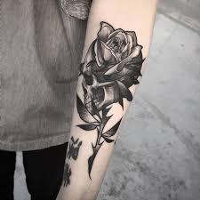 best 25 skull rose tattoos ideas on pinterest arm tattoos with