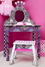 Disney Princess Keyboard Vanity Little Vanity Table Foter