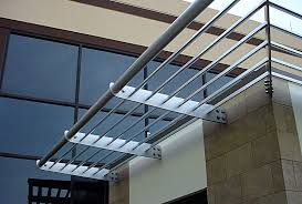 architectural metal and architectural aluminum trellis canopies