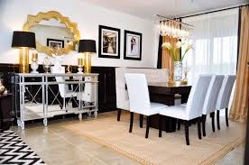 Black And White Dining Room Ideas by Live Laugh Decorate A Black White And Gold Reveal