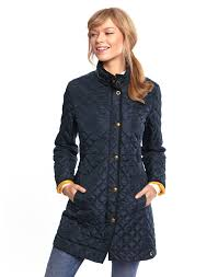 joules womens long length quilted coat navy we believe seeing