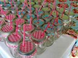 Mason Jar Party Favors Mason Jars With Cupcake Liners Keep The Bugs Out Of Your Summer
