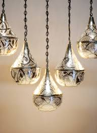 Moroccan Pendant Lights Moroccan 5 Pendant Bar Light The Pixie