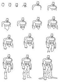 learn draw dc comics batman drawing batman