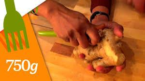 comment cuisiner le gingembre comment éplucher du gingembre 750 grammes