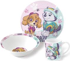 paw patrol ceramic kids girls boys breakfast dinnerware mug
