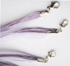 organza ribbon wholesale organza ribbon cotton cord necklace with clasp wholesale ribbon