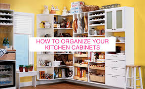 Ways To Organize Kitchen Cabinets How To Organize Your Kitchen Cabinets Hbe Kitchen