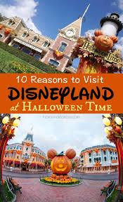10 reasons to visit disneyland during halloween time
