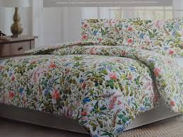 Red And Cream Duvet Cover Raymond Waites Red Cream Bird Butterfly Floral Cotton Full Queen