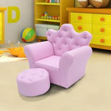 Childs Leather Sofa Kids Sofa Girls Pink Armchair Children Velvet Chaise Longue Chair