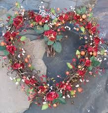 heart wreath heart shaped wreath roses heart wreath wreaths and
