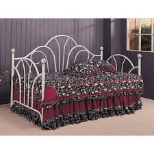 dhp victoria full size pewter metal daybed free shipping today