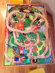 Thomas Train Table Plans Free by Thomas The Tank Roundhouse 99544 Layout Playroom Pinterest