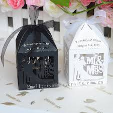 decoration mariage vintage gift wedding favors handmade rustic mrs mr boxes