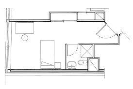 plan d une chambre centre résidentiel valentin haüy la résidence services étudiants