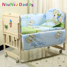 Crib Bedding Discount Shop 5pcs Set Baby Bedding Sets 100 Cotton Baby Bedclothes