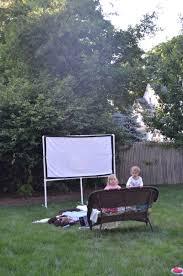 How To Make A Backyard Movie Screen by Diy Backyard Movie Screen At Charlotte U0027s House