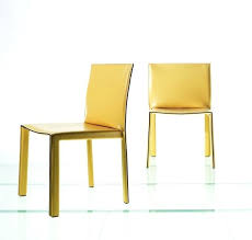 Italian Leather Dining Chairs Fascinating Contemporary Yellow Dining Chair Modern Leather Dining