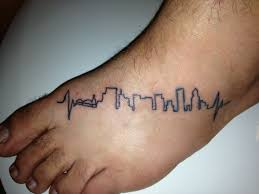 the 25 best heartbeat tattoo with name ideas on pinterest