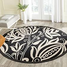 Black And Beige Rug Amazon Com Safavieh Courtyard Collection Cy2961 3908 Black And