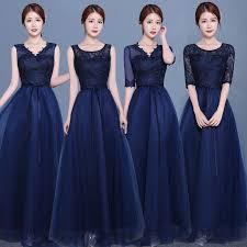 long sleeve blue bridesmaid dresses fashion dresses