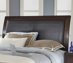 California King Sleigh Bed with California King Low Profile Sleigh Bed W Synthetic Leather