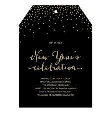 New Year Invitation Card Year U0027s Confetti Holiday Party Invitation Card