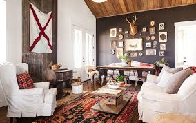 Modern Country Living Room Ideas by Darryl And Annie Mccreary Cabin Decorating Ideas Rustic Cabin Decor